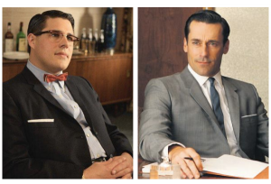 Don Draper & Harry Crane
